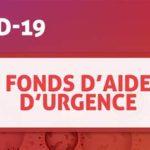 Covid 19 – Fonds d'urgence entreprises et associations