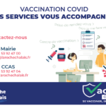 Vaccination COVID : Nos services vous accompagnent