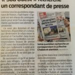 Correspondant(e) SUD OUEST : Le journal lance un appel