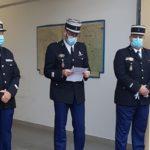 Gendarmerie :  La Roche – Chalais remercie le major ROUSSARIE et lui souhaite une bonne retraite !