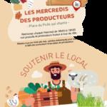 Prochainement dans le bourg : Les Mercredis des Producteurs