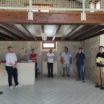 Agrandissement Jeanne Nicolas : 1er réunion de chantier